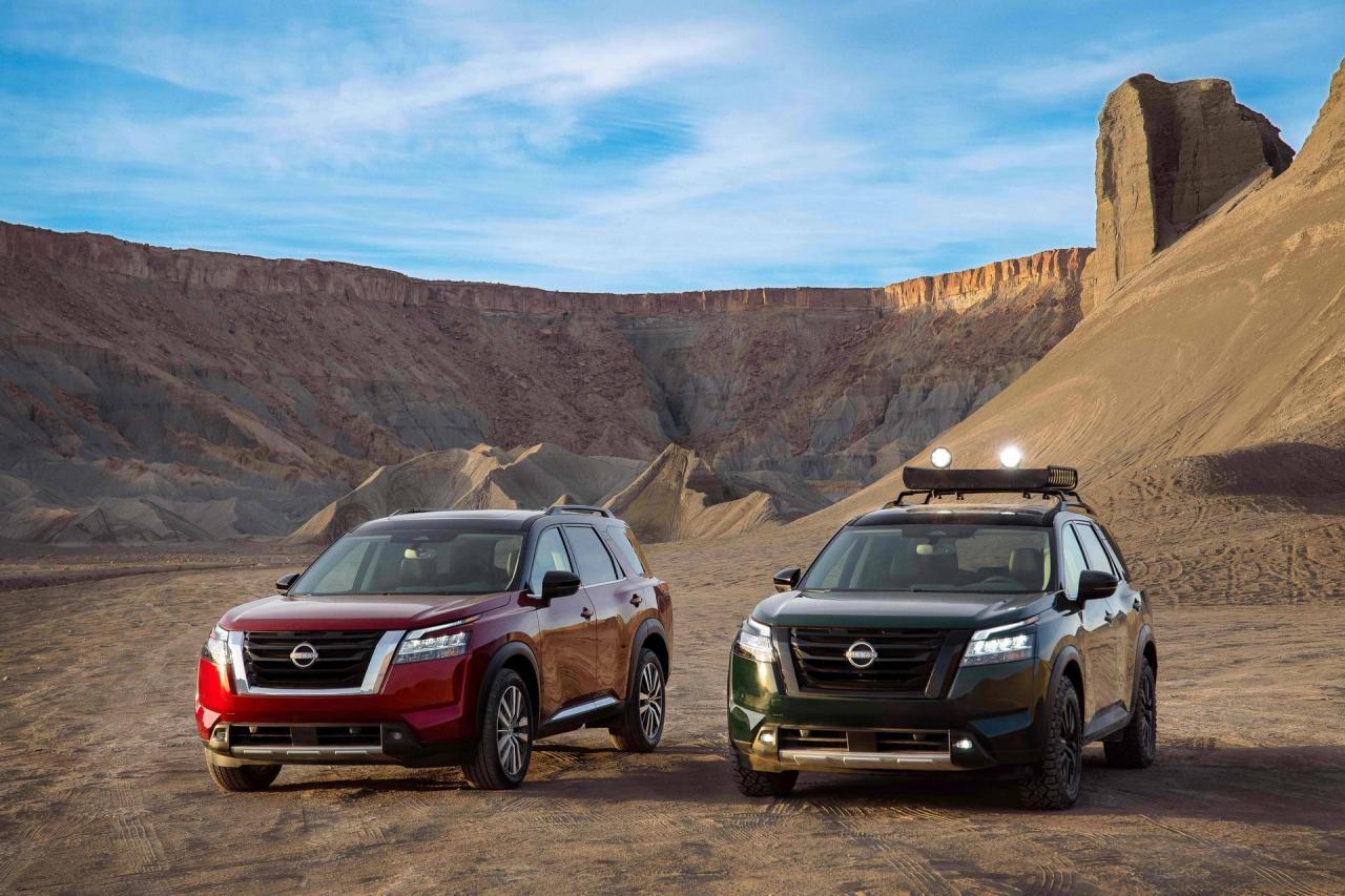 All-New Nissan Pathfinder Features & Details - New look of Luxury SUV
