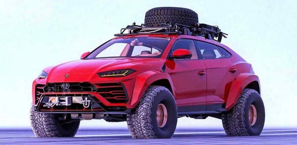 Lamborghini Urus Monster Truck : the snow queen by Abimelec Design