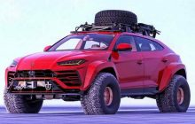 Lamborghini Urus Monster Truck : the snow queen by Abimelec Design