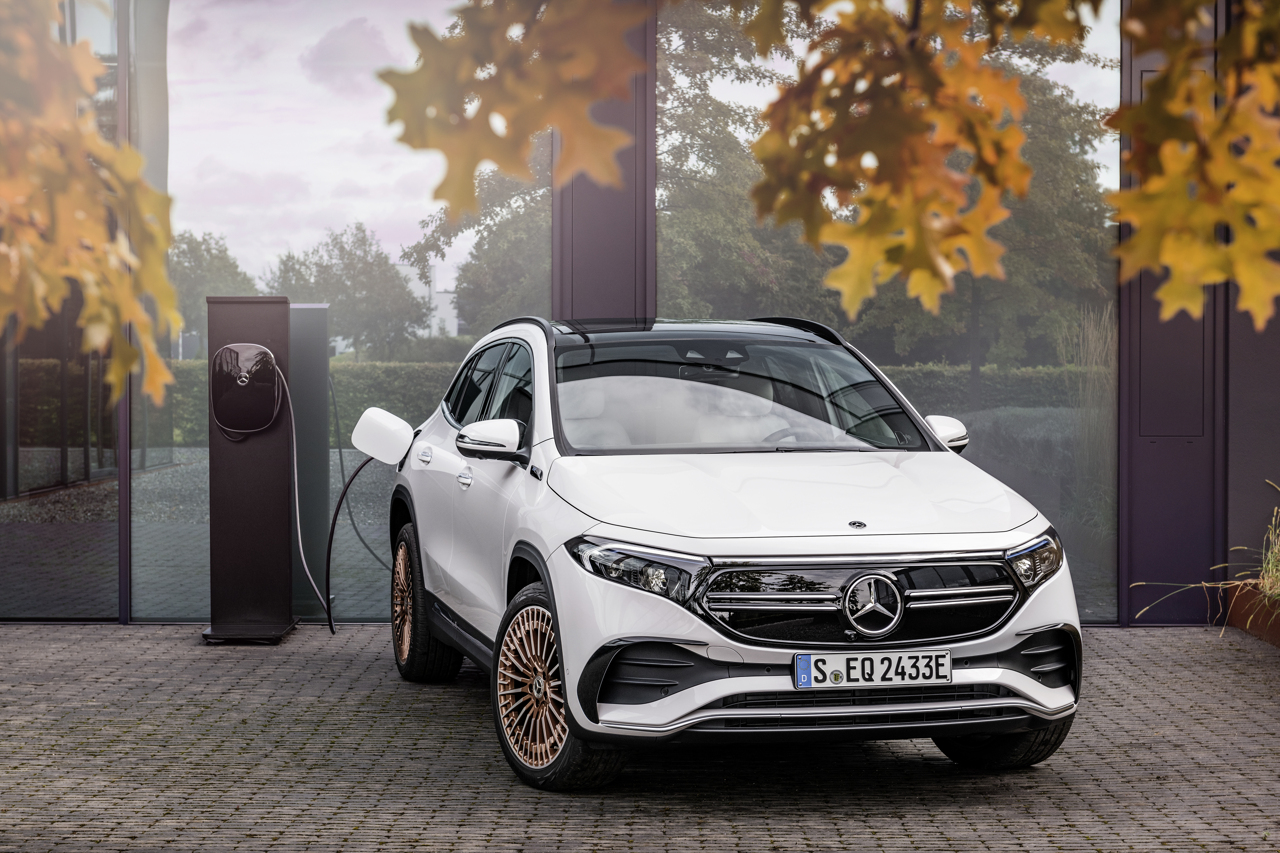 Mercedes EQA: ROAD TEST VIDEO of the new electric compact of the Star Great comfort, a range of 486 km and a very attractive price