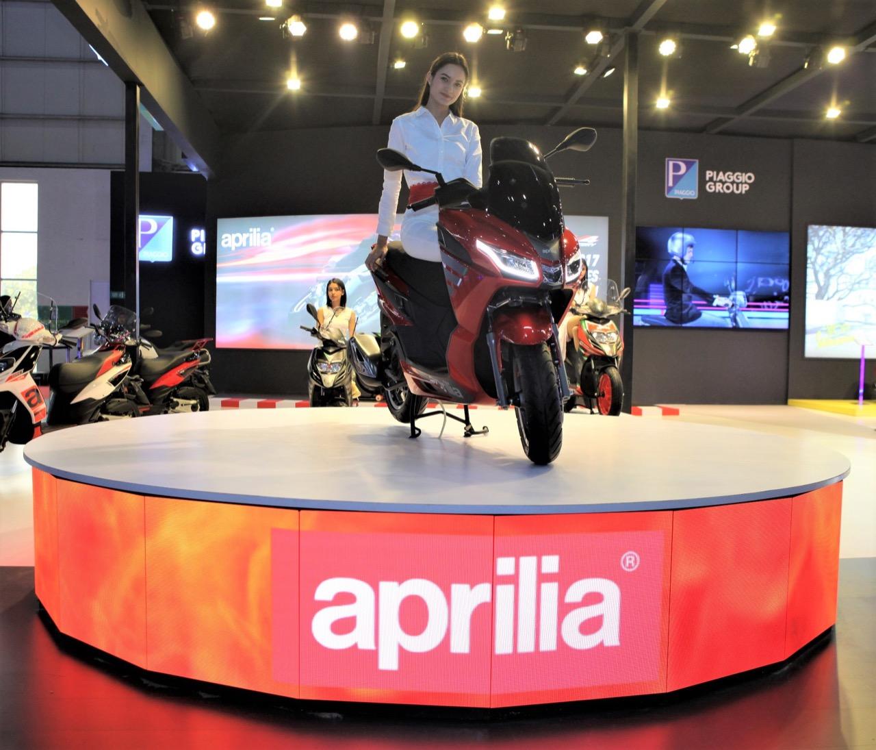 Aprilia SXR 160 elected