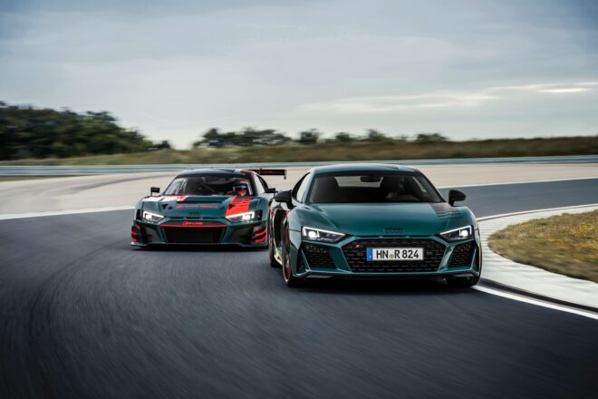 Audi R8 Green Hell Edition: limited to only 50 units, inspired by the R8 LMS
