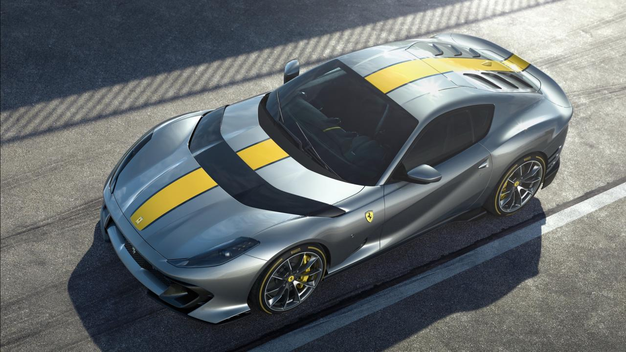 Ferrari 812 Superfast Limited Edition: a V12 that runs at 9,500 rpm
