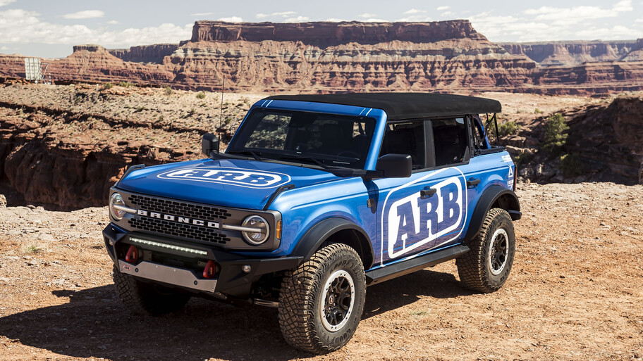 Ford Bronco has an extensive list of accessories to enhance its image and performance