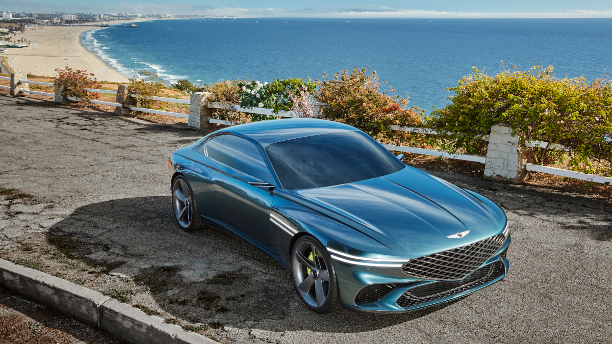Genesis X Concept: a concept car that visualizes elegant and luxurious electric Gran Turismo