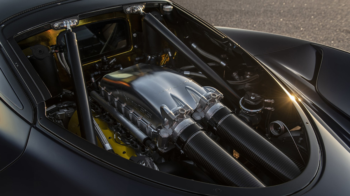 Hennessey Venom F5 2021, the first tests begin