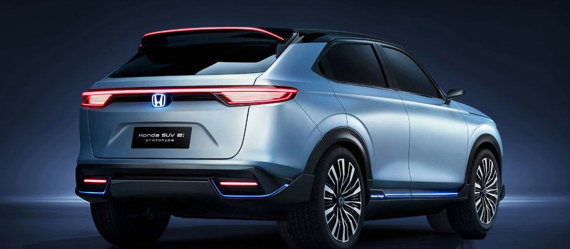 Honda SUV e: prototype: Honda's first electric SUV