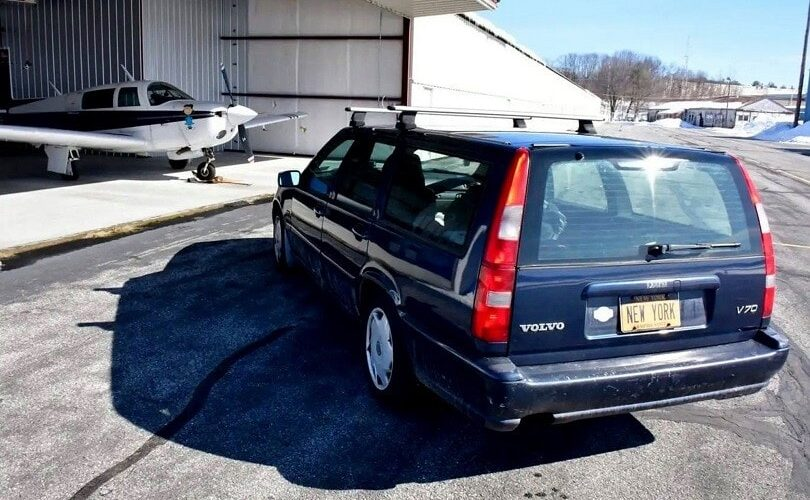 Sells a used Volvo V70, but asks for $ 20 million!
