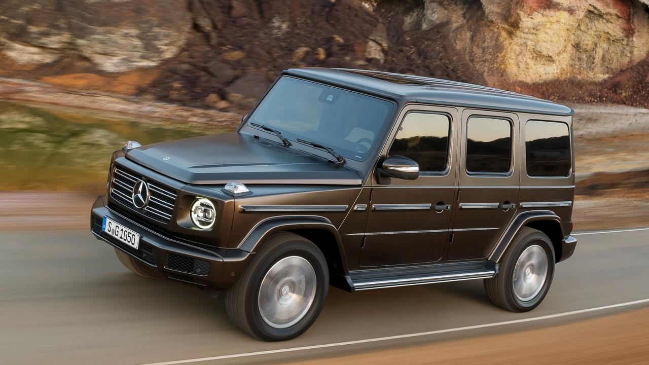 The electric Mercedes-Benz G-Class could be called EQG