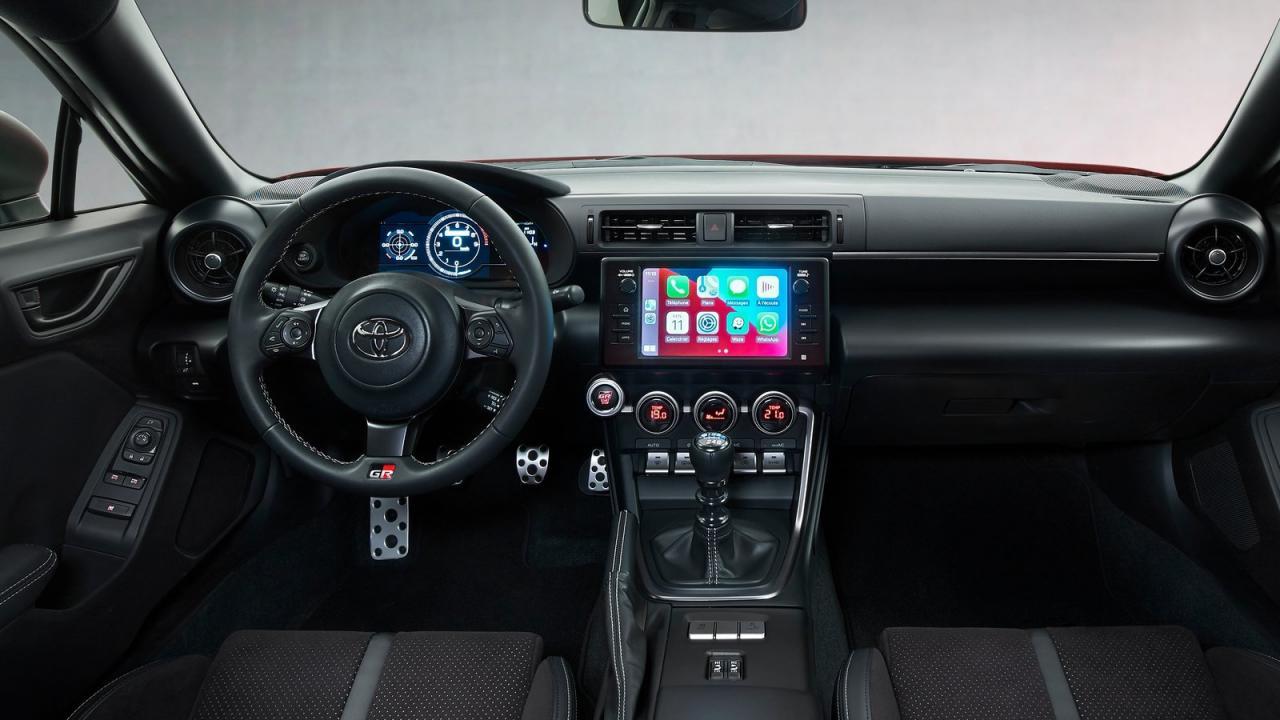 Toyota GR 86 2022 Specs, Details, Features, Interior