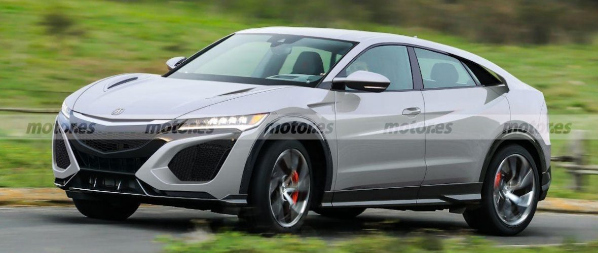 Sketches: Acura NSX and Bugatti, High performance SUVs