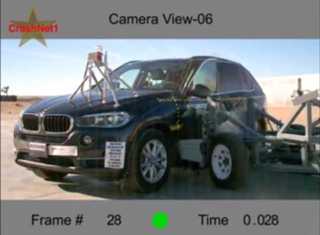 BMW X5 gets 5 stars Crash safety rating
