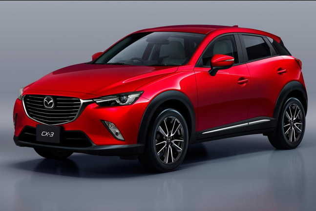 2015 Mazda a CX-3 is on Nissan Juke rival and will cost around £ 13,000