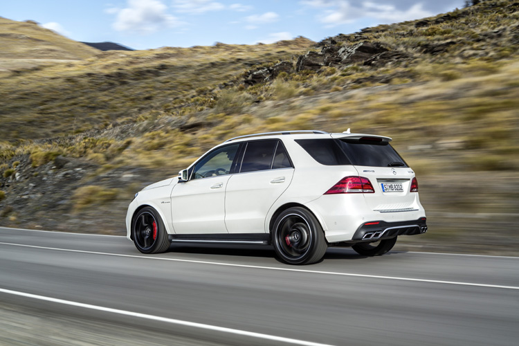 2016 Mercedes Benz Gle and Mercedes AMG GLE63 Unveiled