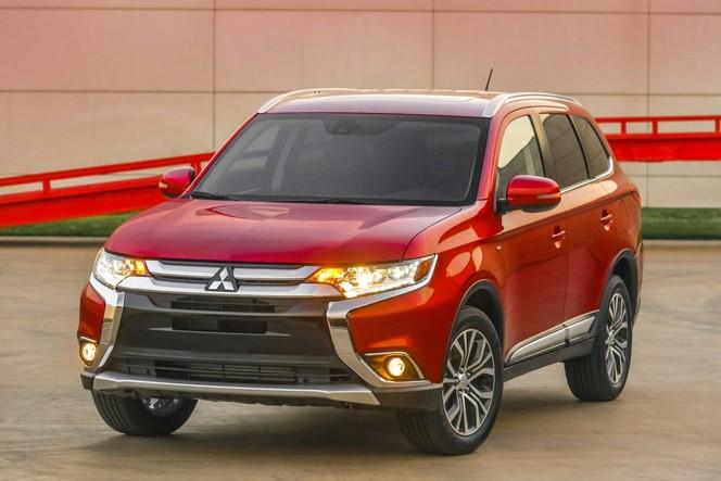 2016 Mitsubishi Outlander Redesign