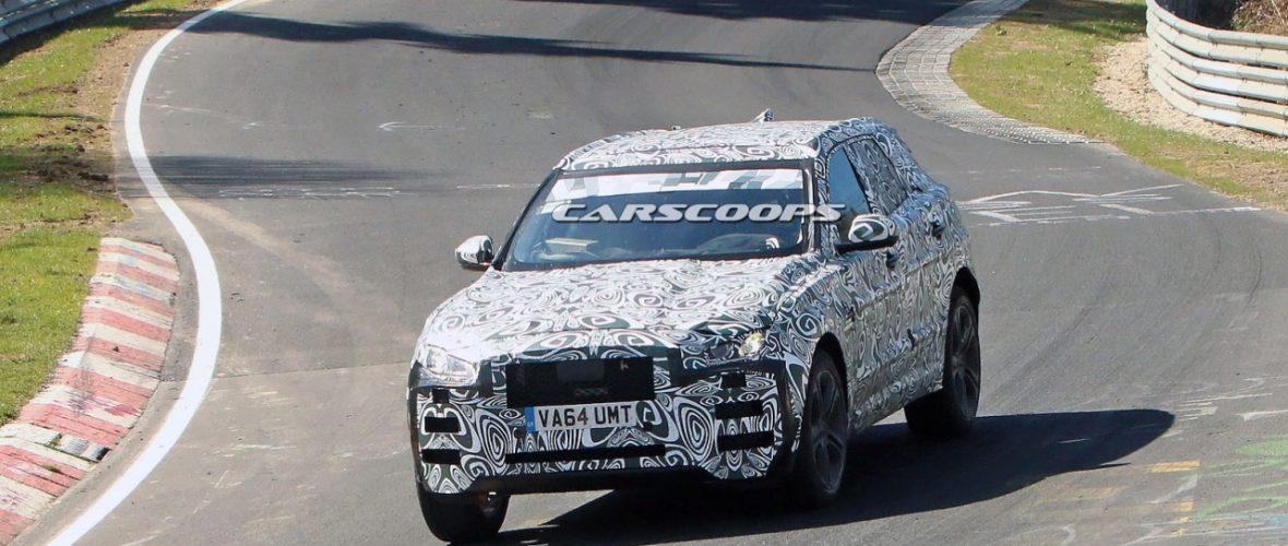 Jaguar 2017 F-Pace Spy Shots