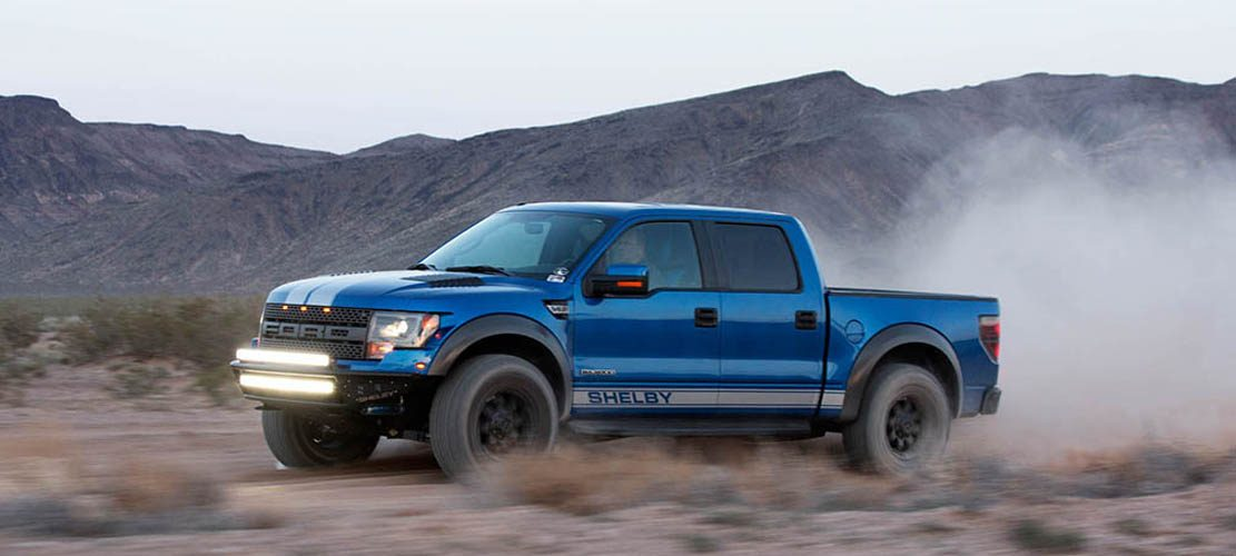 Shelby Baja 700, the 700 hp Version Of Ford F-150 Raptor