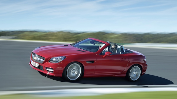 This fall, the Mercedes Benz SLK become SLC