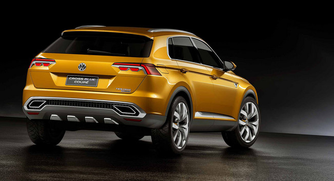 Volkswagen : 5 New Crossovers By 2020
