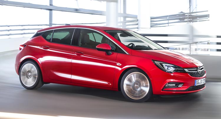 Al New Opel Astra 2016 Revealed, Leaked, Pictures