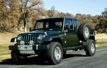 Jeep: a pickup based on upcoming Wrangler?