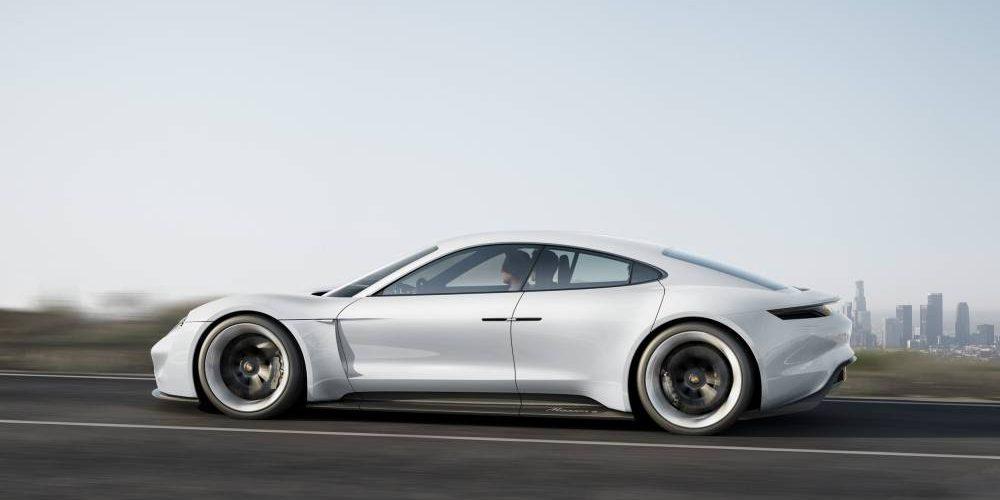 Porsche Challenge Tesla