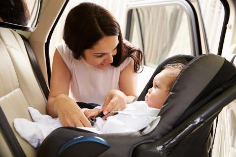7 Rules for the proper use of child seats
