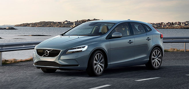 2017 Volvo V40, Maximum Swedish Technology