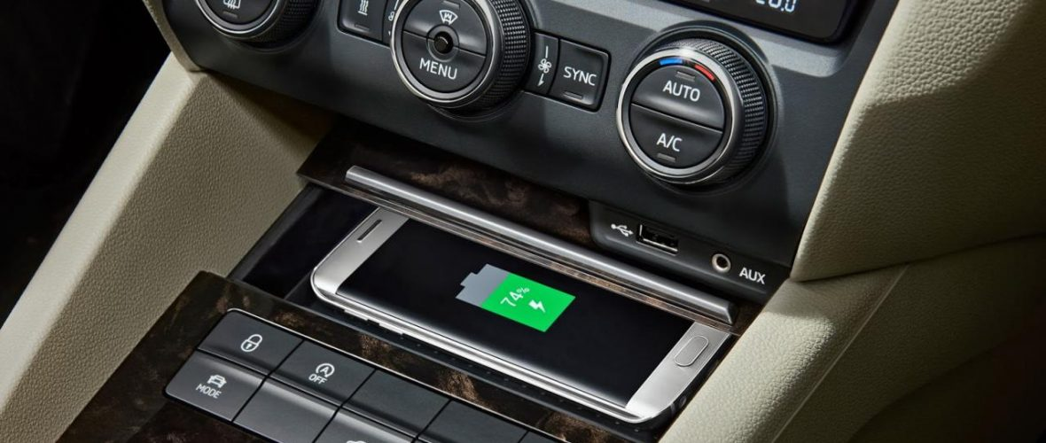 Skoda Octavia 2016 Changes : Get Wireless Phone Charging