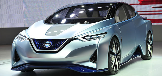 Nissan's future at the Geneva Motor Show: The vision of the Smart Mobility