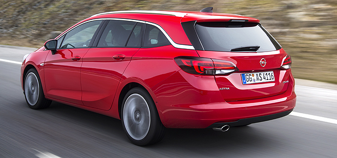 Opel Astra Sports Tourer 2016 Specs, Price, Details