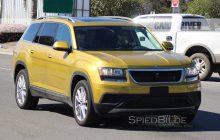 2018 Volkswagen Three-Row Crossover Spied, Specs, Release Date!