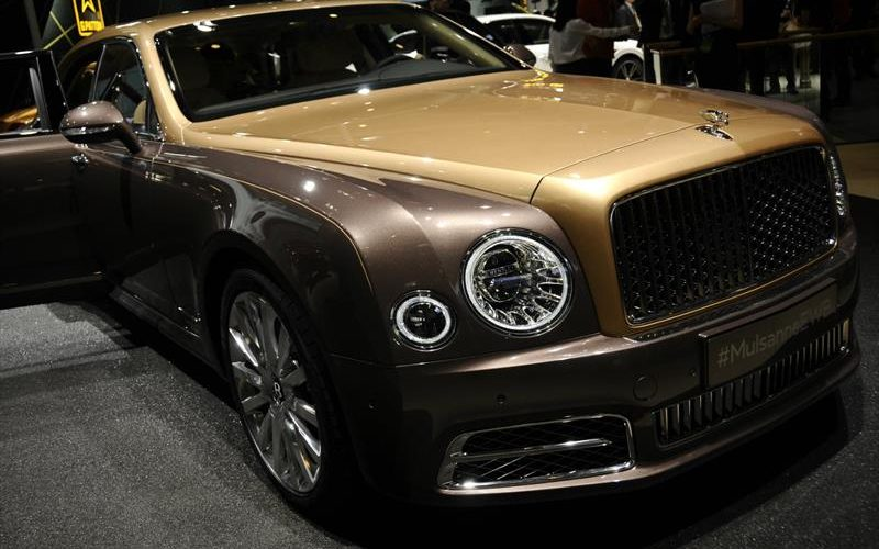 Bentley Mulsanne First Edition, limited to 50 units