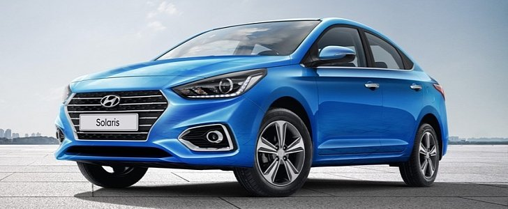 2017 Hyundai Solaris Revealed in Russia