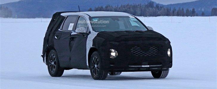 2018 Hyundai Santa Fe SpyShot