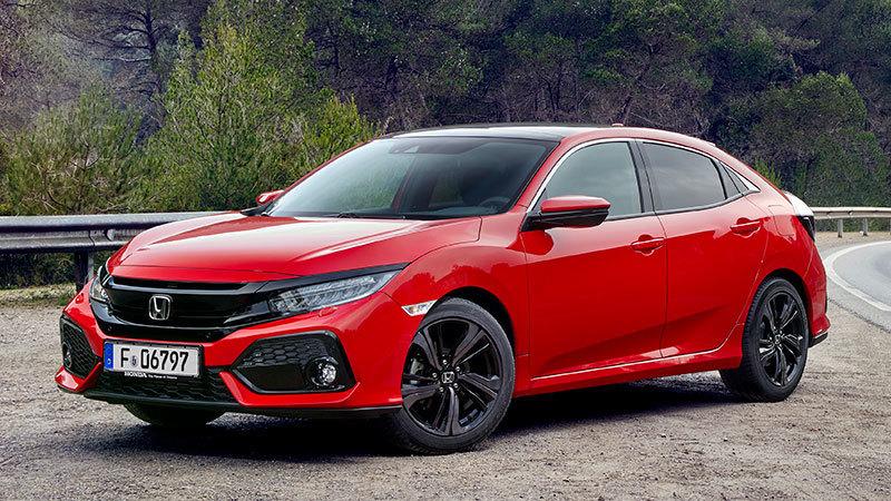Honda Civic 5p 2017 Specs and Details