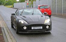 Aston Martin Vanquish Zagato Spied Testing in Nurburgring