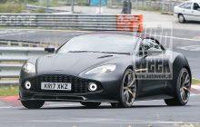 Aston Martin Vanquish Zagato Volante Spide Testing at Nürbürgring