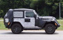 2018 Jeep Wrangler Two-Door Spied Testing