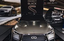 Amazing INFINITI Project Black S at The Quail