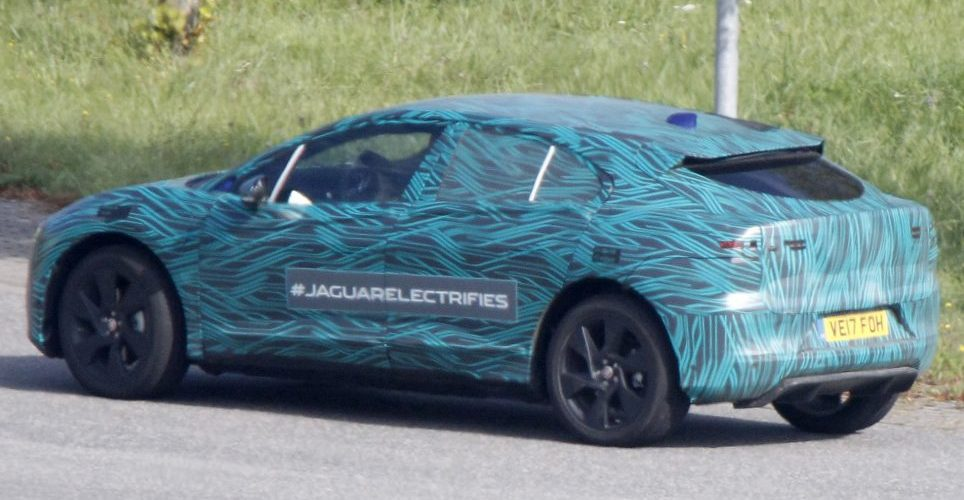 Jaguar I-Pace electric SUV Specs