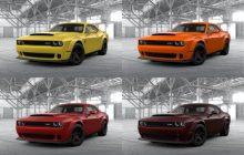 The new Dodge Challenger SRT Demon already has its configurator open