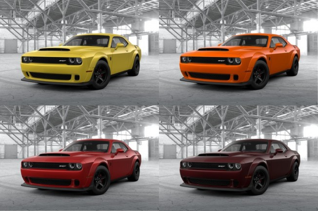 The new Dodge Challenger SRT Demon already has its configurator open