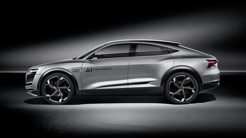 Audi Elaine Concept at 2017 Frankfurt show
