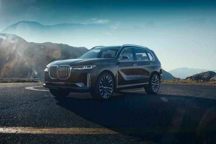 BMW X7 Concept: XXL
