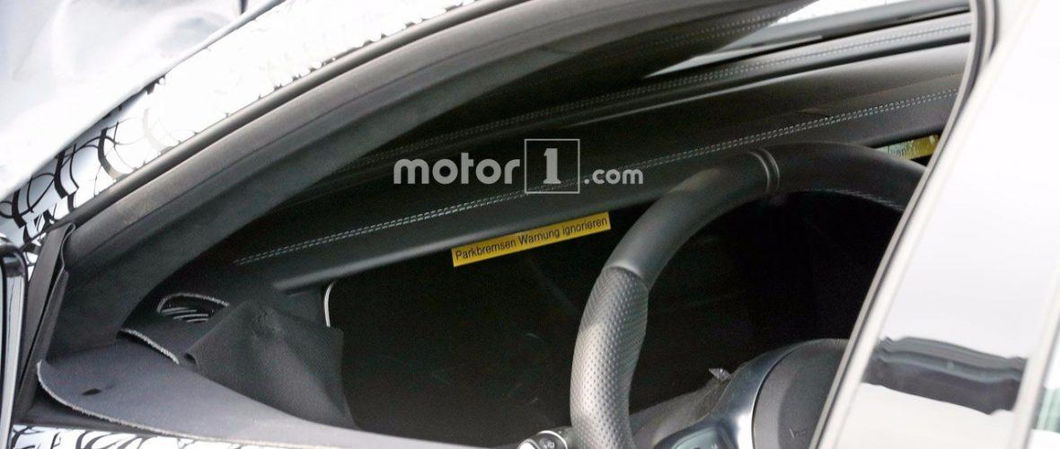 Mercedes-AMG GT4 Dashboard Successfully Spied