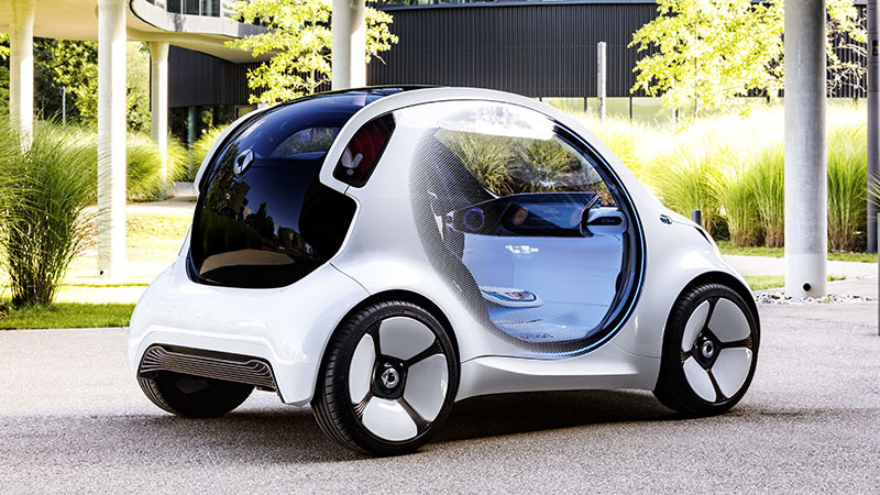 Smart Vision EQ fortwo prototype - General Information