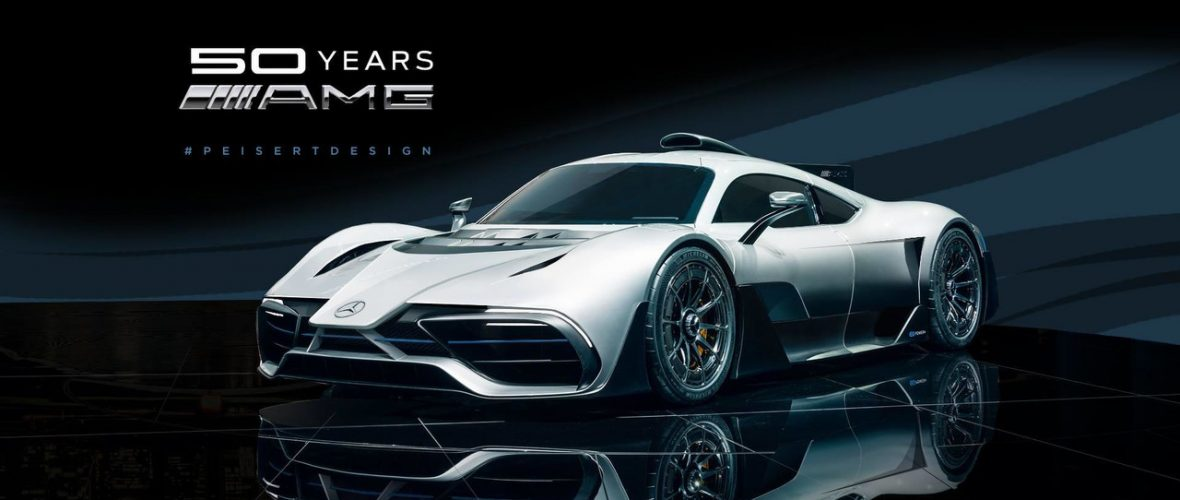 The Mercedes-AMG Project One with an F1 nose, a brilliant idea?