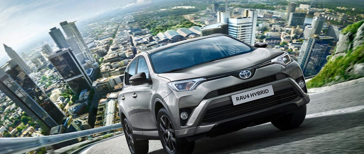 2018 Toyota RAV4, same engines and finishes with new Black package