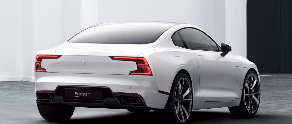 Polestar 1: the company unveils the first vehicle in its history